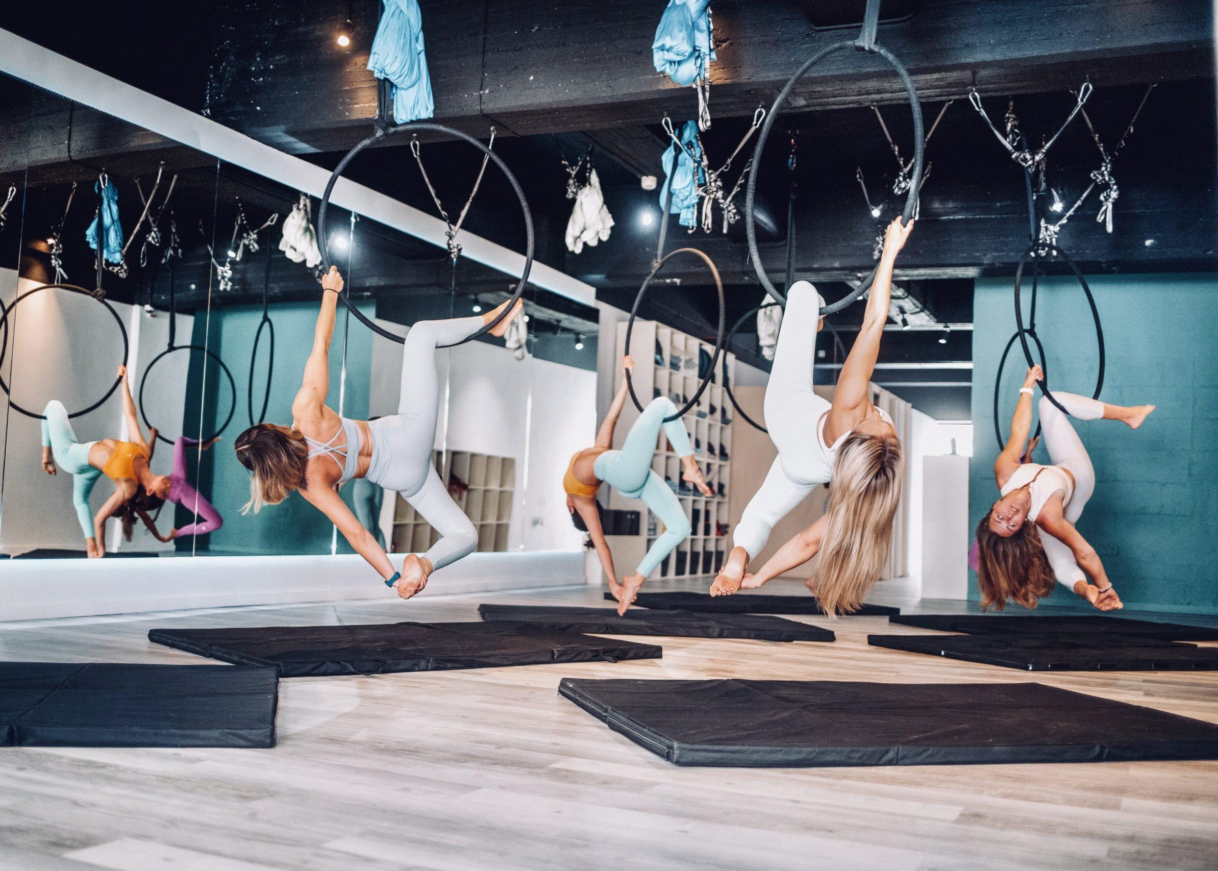aerial hoop classes malta